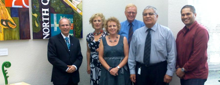 AA meets with HWM Len Brown