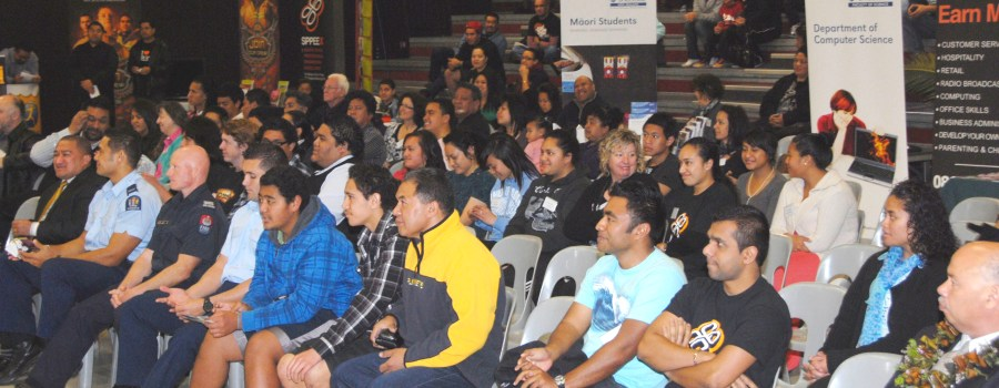 Audience at Auckland Pacific Careers